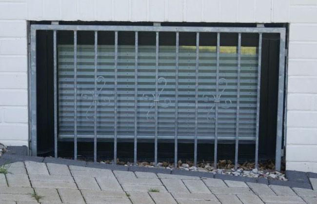 Fenstergitter aussen für Keller oder Souterrain