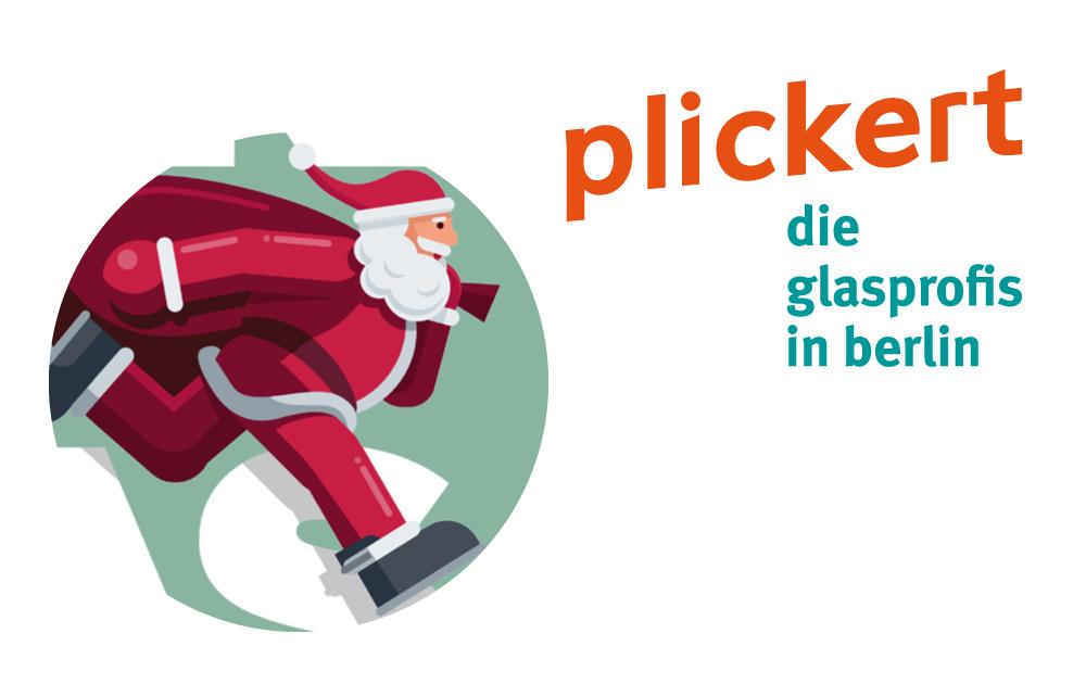 Glaserei PLICKERT wünscht Frohe Weihnacht