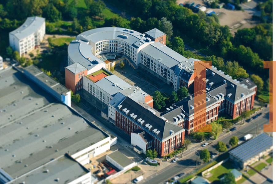 Glaserei PLICKERT im Herzberg-Campus