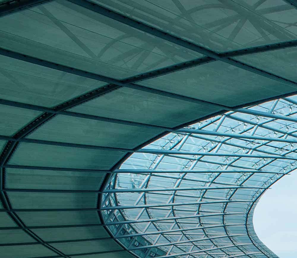 Glasdach Olypiastadion Berlin