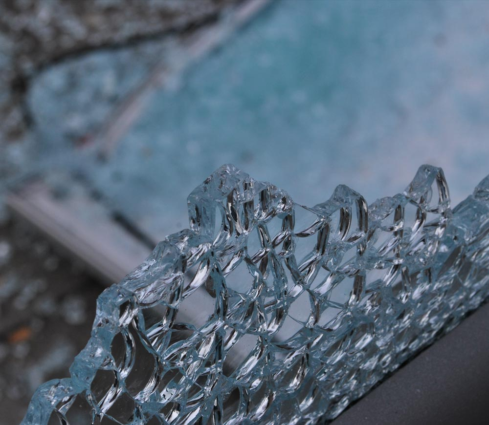 Einbruchschutz Sicherheitsverglasung für Glasfronten und Fensterfronten